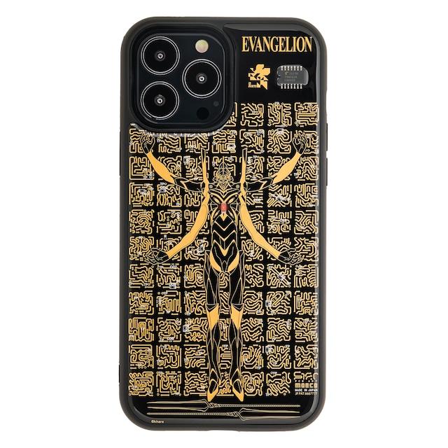 FLASH EVA13 基板アート iPhone 13 Pro Maxケース 黒【東京回路線図A5クリアファイルをプレゼント】