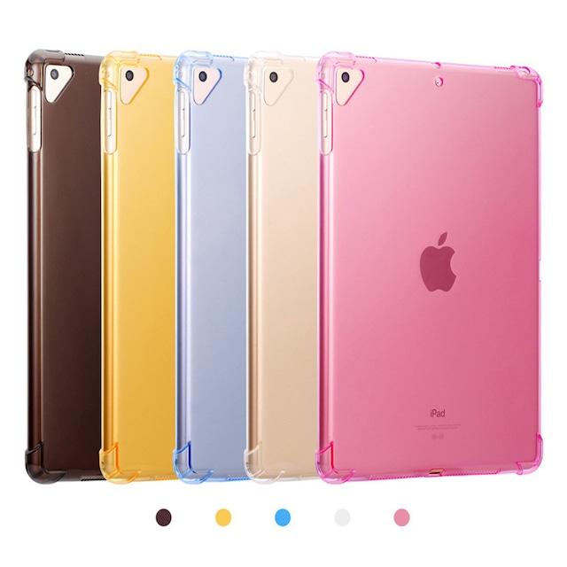 simple transparent color iPad case