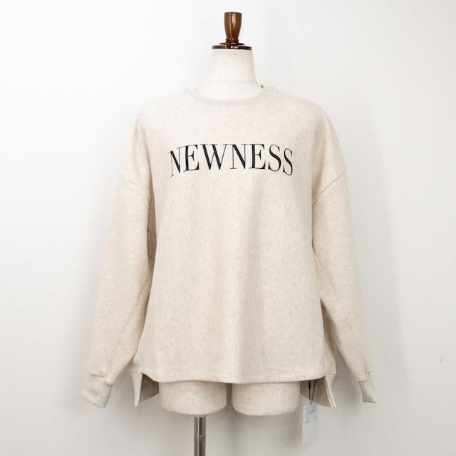 "【MICA&DEAL/マイカアンドディール】""NEWNESS""スウェットプルオーバー(オートミール)"