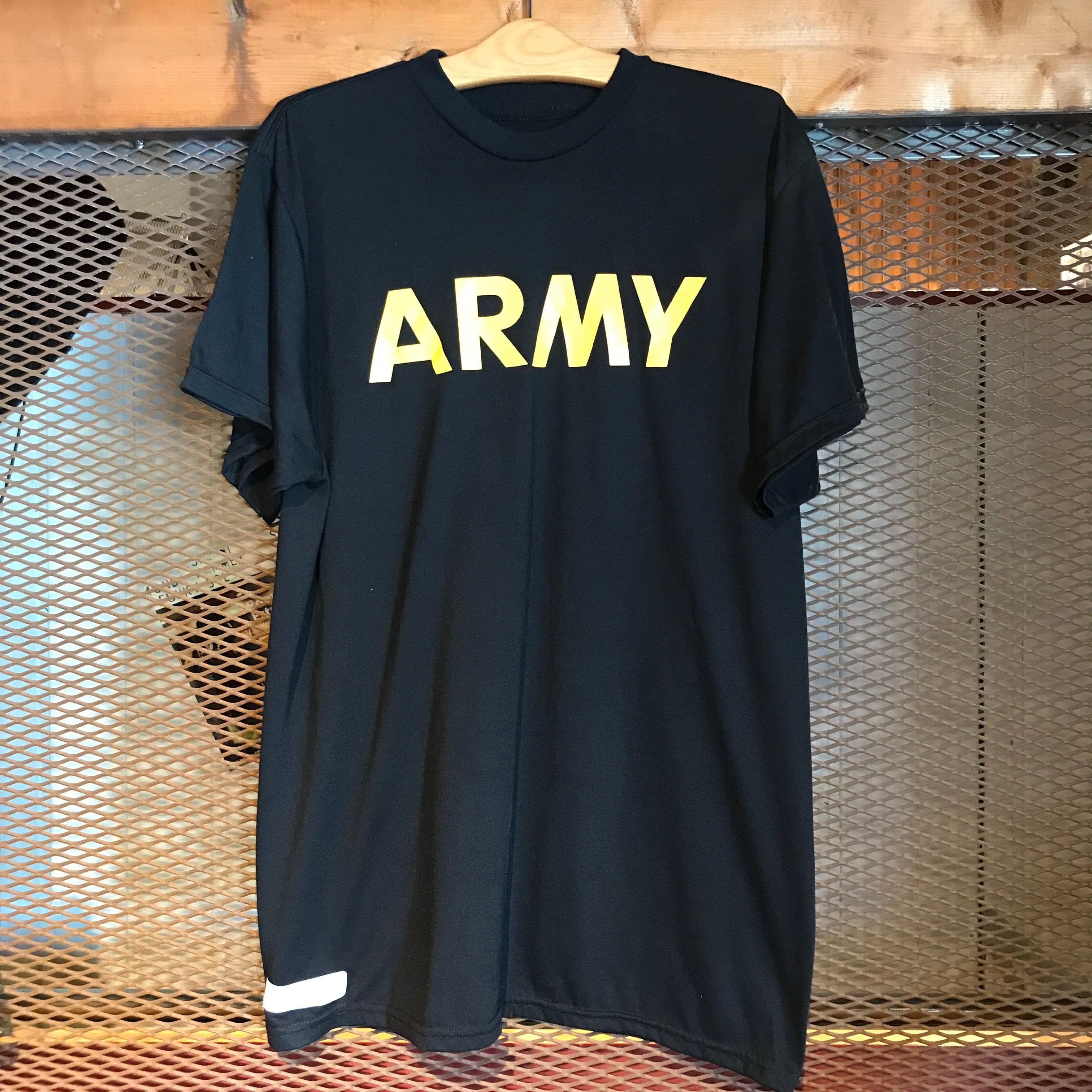 【Used】ARMY Tee (Black)