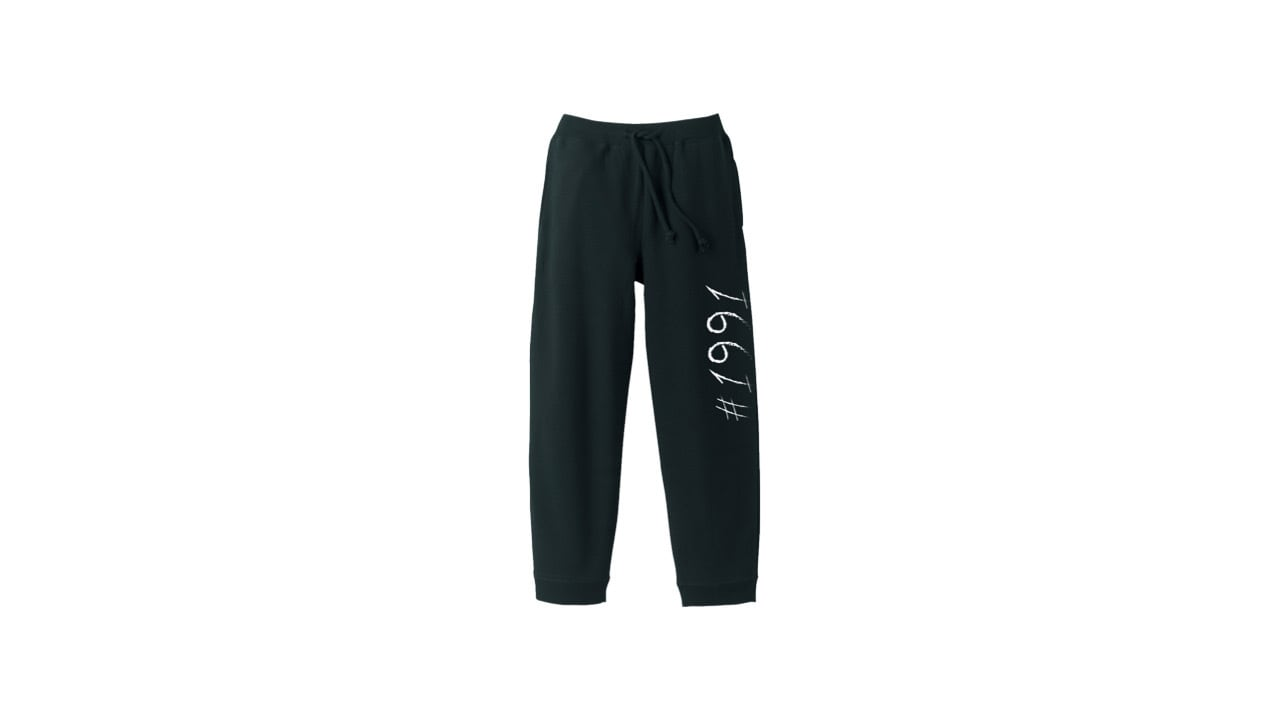 1991 sweat pants (BLK)