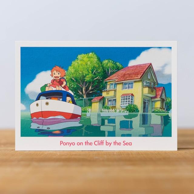 崖の上のポニョ ポストカード(7750)