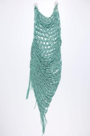 21SS Drape Finge Knit  ONEPIECE