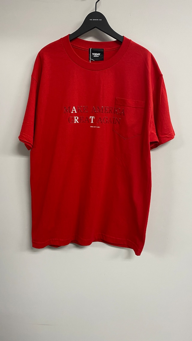 TODAY edition / Art SS Tee(RED)