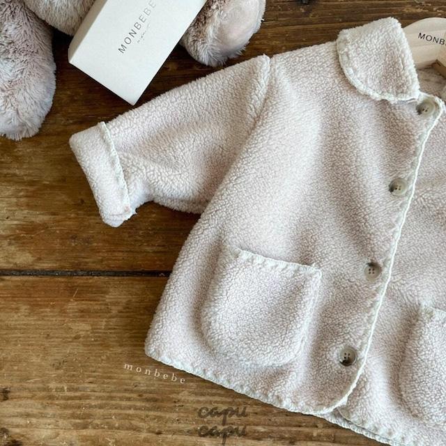 «先行予約割引» monbebe mellow jacket 2colors メロウアウター