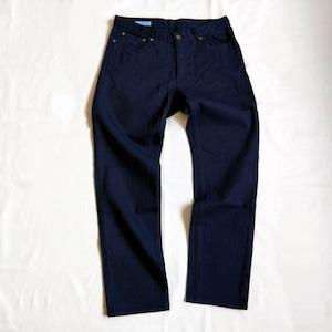 """<ツムギラボ> Dead stock denim pants """"Tetsukon"""" dye"""