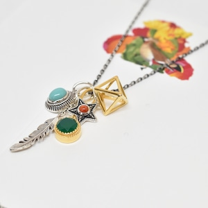 Packaged collection  5motifs pendant