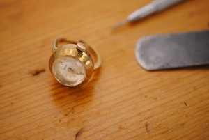 【ビンテージ時計】1974年4月製造 セイコー指輪時計 日本製 当時の定番モデルになります