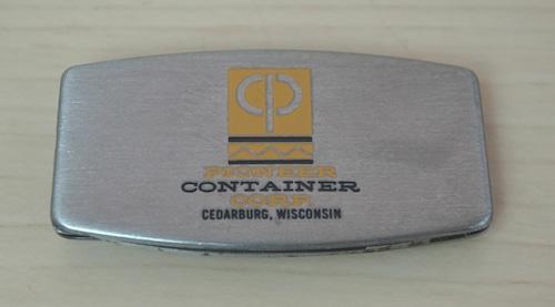 アメリカンヴィンテージなマネークリップ!ナイフ&やすり付き!ZIPPO製(CONTAINER)