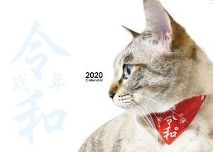 【猫の記念日がまあまあ入ってる】ネコソダテ2020カレンダー