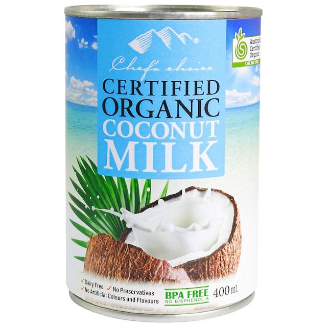 シェフズチョイス オーガニックココナッツミルク Organic Coconut Milk 400ml