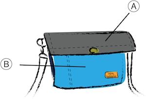 サコッシュ(M) カラーオーダー