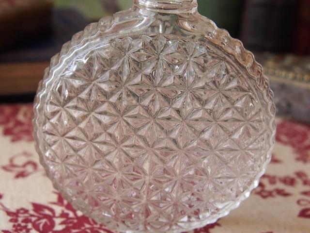 イギリスアンティーク ガラスボトル ガラス瓶
