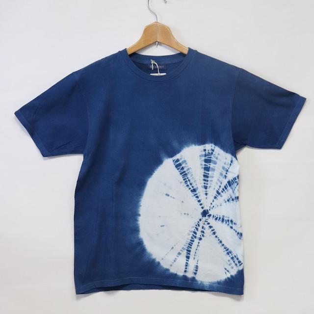 藍染Tシャツ【B】|Mサイズ