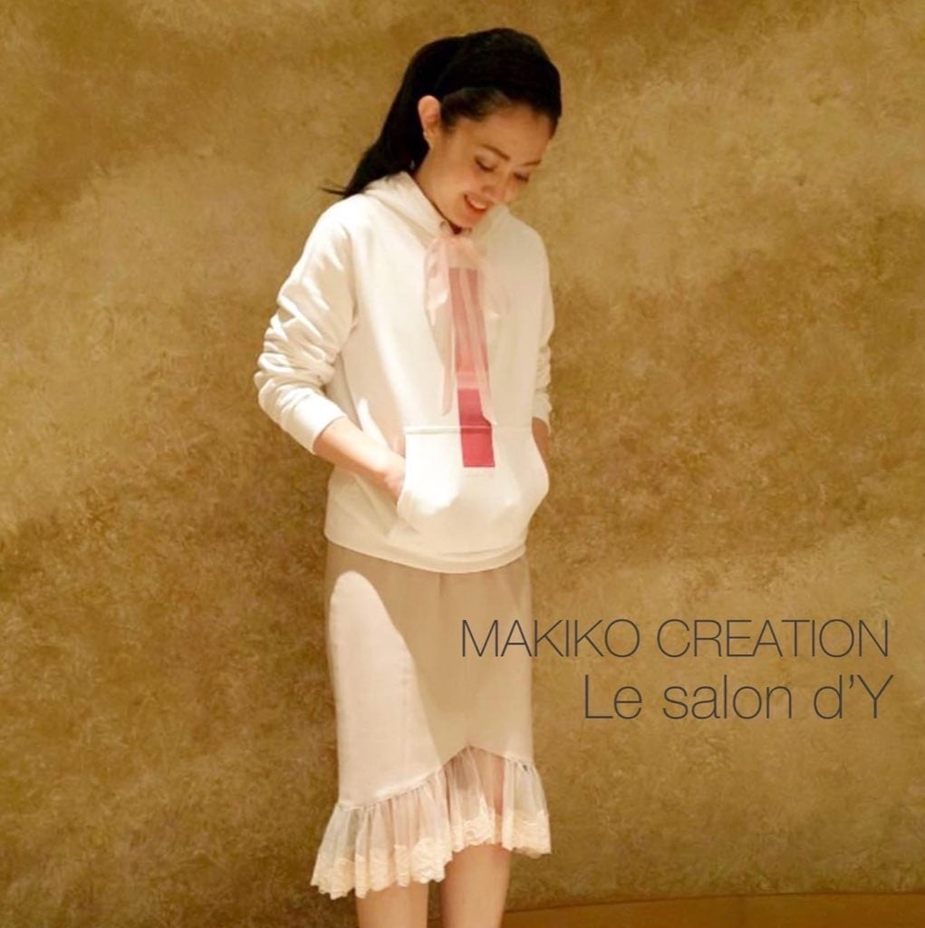 MAKIKO CREATION × Le salon d'Y -ルサロンディ-【コラボフーディ】