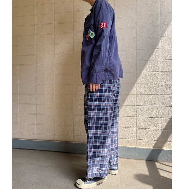 Navy pajama pants