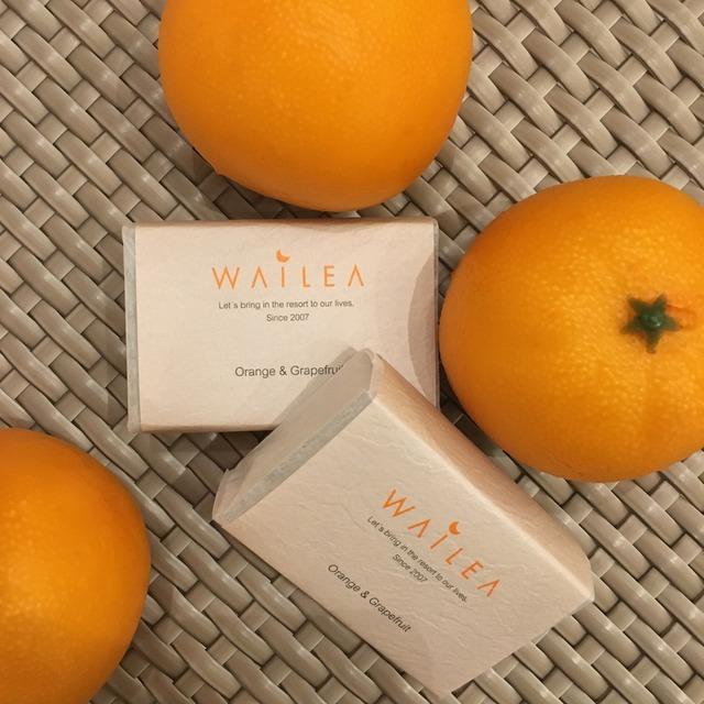 WAILEAオリジナル石鹸  orange&grape