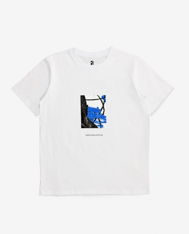 POETIC COLLECTIVE Painting TEE WHITE
