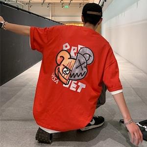 【トップス】キュートアニメ二次元プリント半袖ストリート系Tシャツ43710847