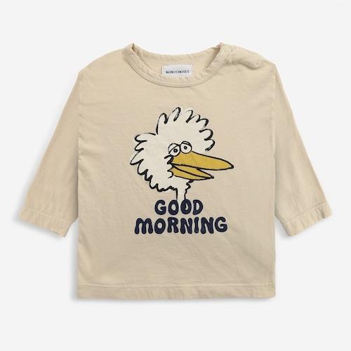 BOBOCHOSES Birdie long sleeve T-shirt (12-36m)