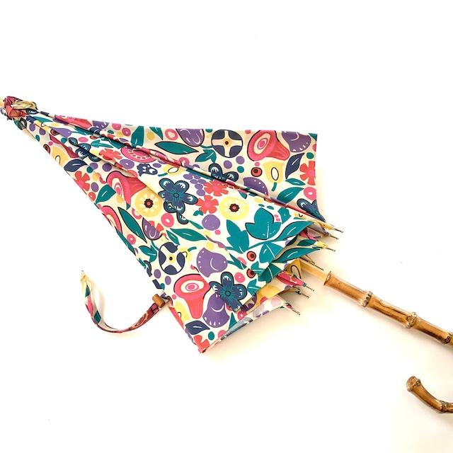 北欧デザイン日傘(晴雨兼用)  パゴダタイプ   tulip