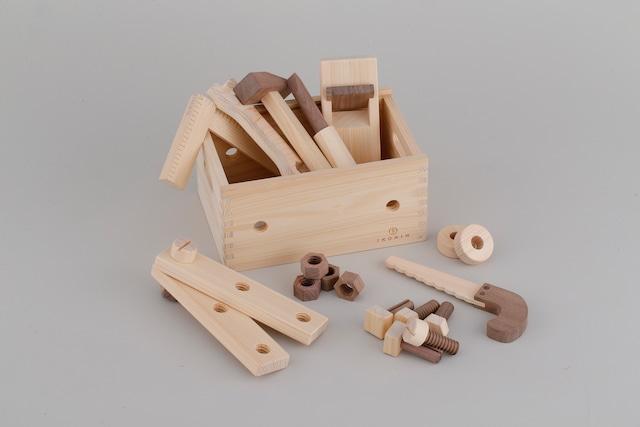 大工セット  WORKING SET ※送料無料 | 木のおもちゃ 知育 巧緻性