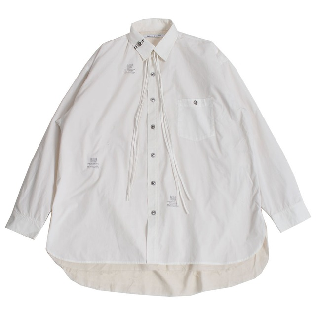 CHILDREN OF THE DISCORDANCE Oversized Shirt White