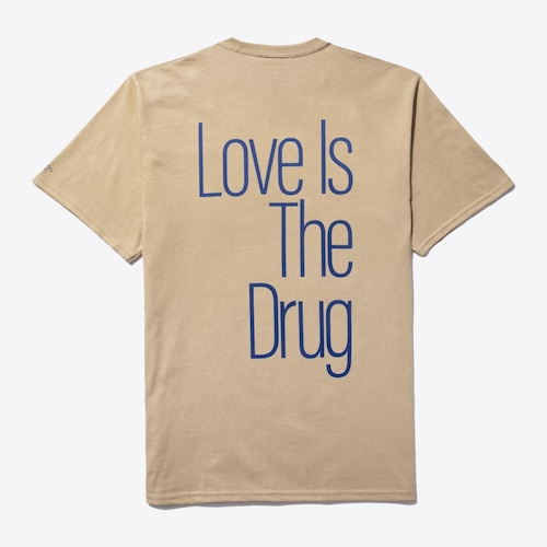 Noah x Roxy Music Love Is The Drug Tee(Sand)