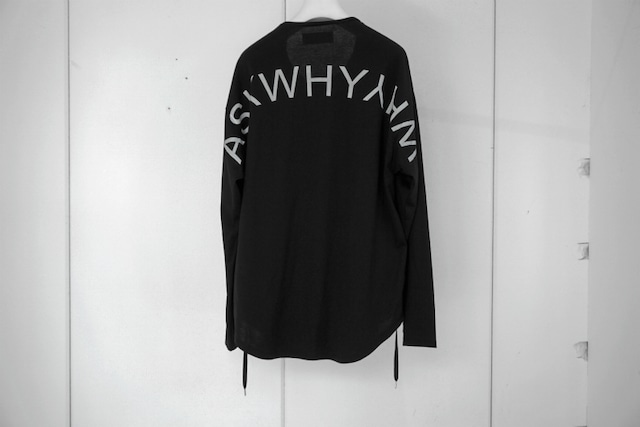 ASKYY / ASKWHYWHY CODE L/S (PRINT) /  BLK