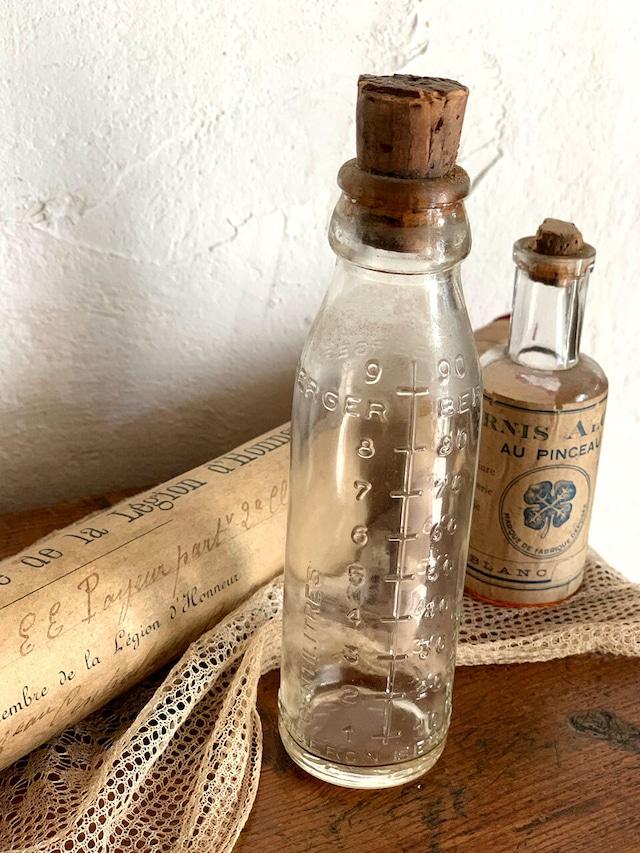 BERGER コルク付き ガラスボトル