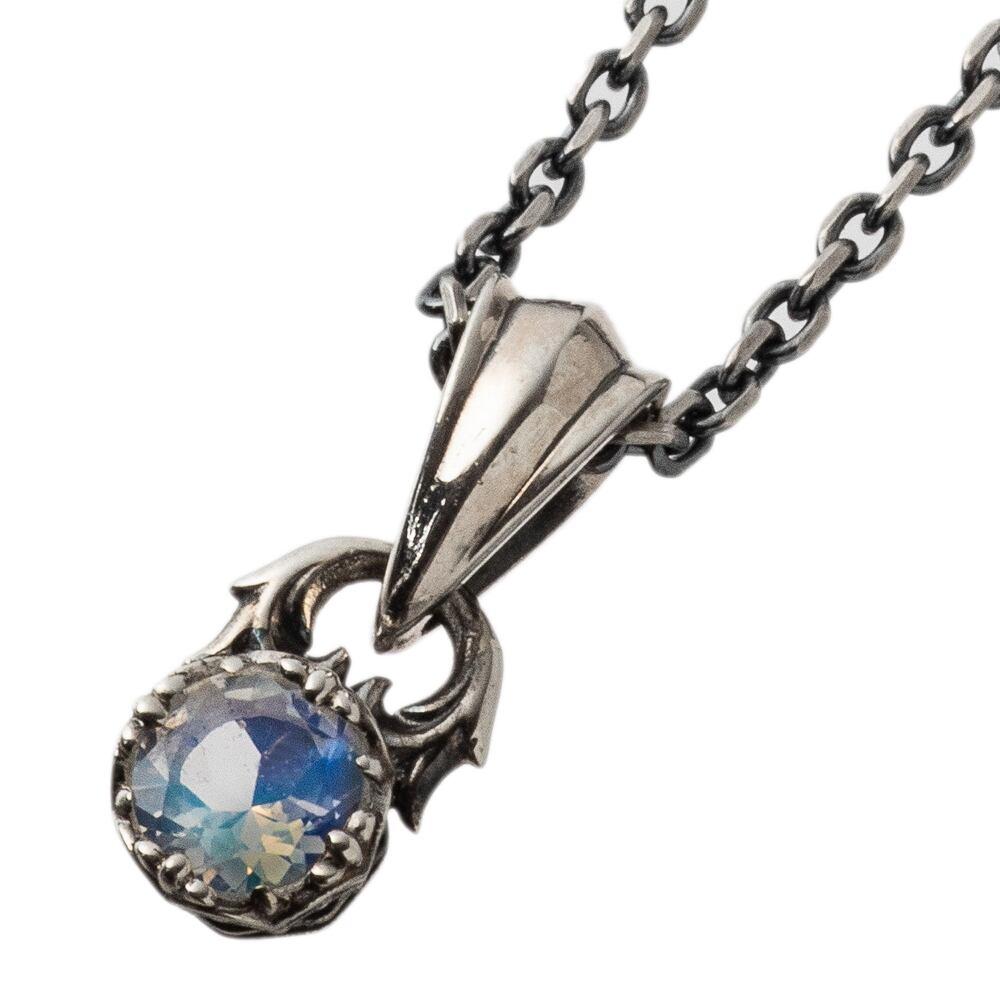 ジュエルクラウンペンダント ブルームーンストーン ACP0342 Jewel Crown Pendant Blue Moonstone
