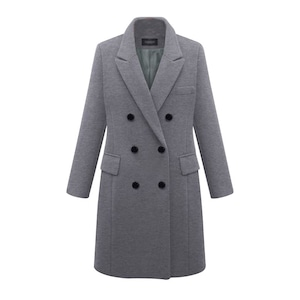 7色あり チェスターコート 無地 レディース アウター 秋冬 ロングジャケット スプリングコート  ロングコート ツイード  大きいサイズ 9663