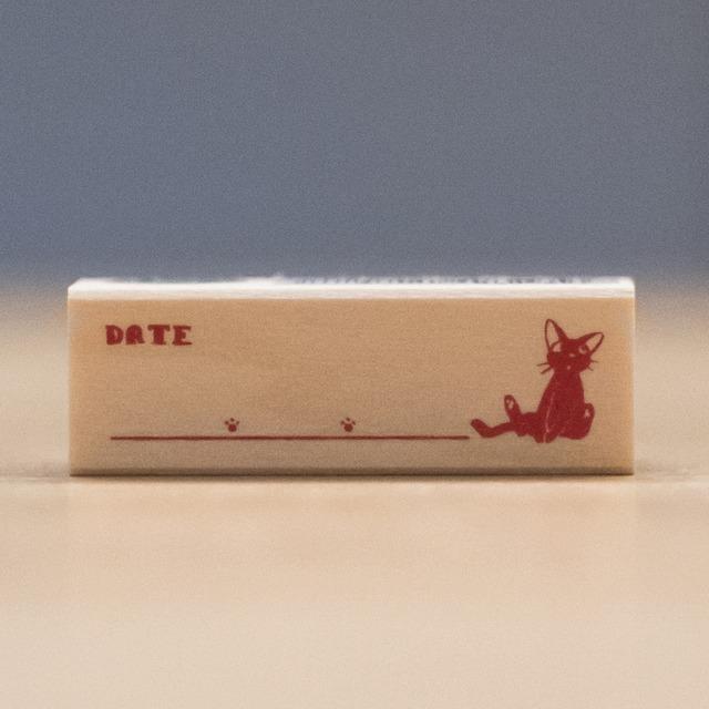 魔女の宅急便 木製スタンプ 45×15(DATE/7987)