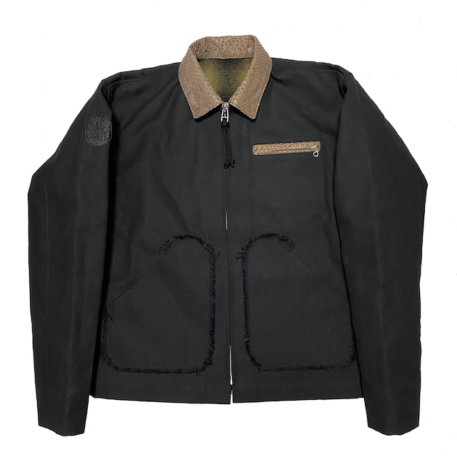 Petroit Work Jacket / Black - メイン画像