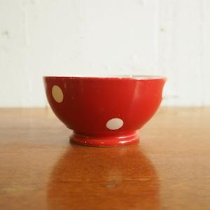 longchamp(ロンシャン)の赤い水玉ボウル ミニ