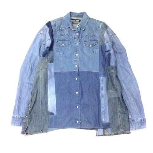 REMAKE  SHIRTS リメイクチェックシャツ【Shirts07】