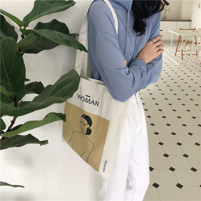casual women canvas bag