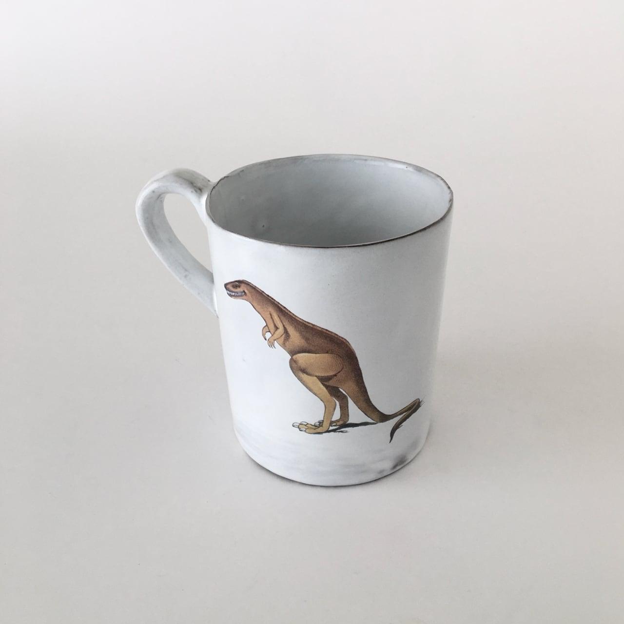 Carron Illustrated Mug Dino|マグカップ Dino