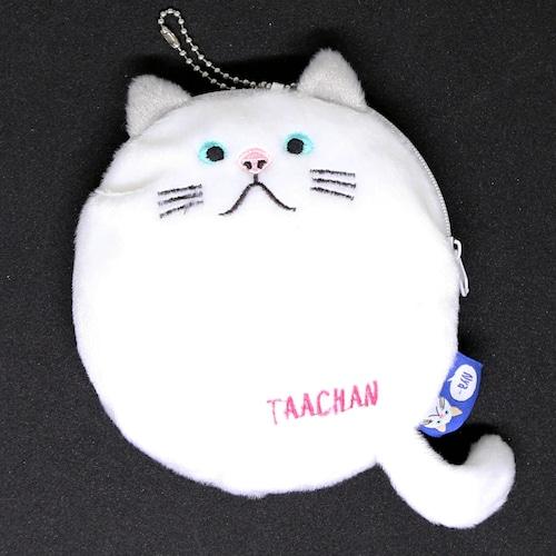 猫ポーチ(まんまるターチャン)