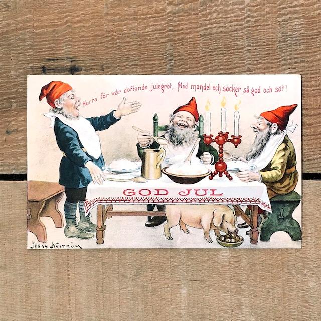 クリスマスカード「Jenny Nyström(イェニー・ニィストルム)」《200221-04》
