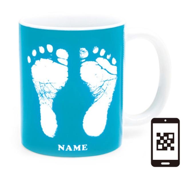 ai mug   A-type (LIGHT BLUE) QRコード付き