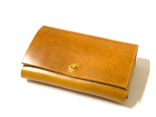 【イビザ:キャメル】名刺入れ・カードケース