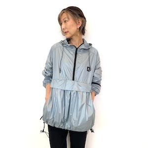 DOUBLE STANDARD CLOTHING (ダブルスタンダードクロージング ) ビックシルエットナイロンフーディー 0205200213