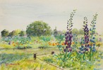 NO.102「花畑の午後・4月」