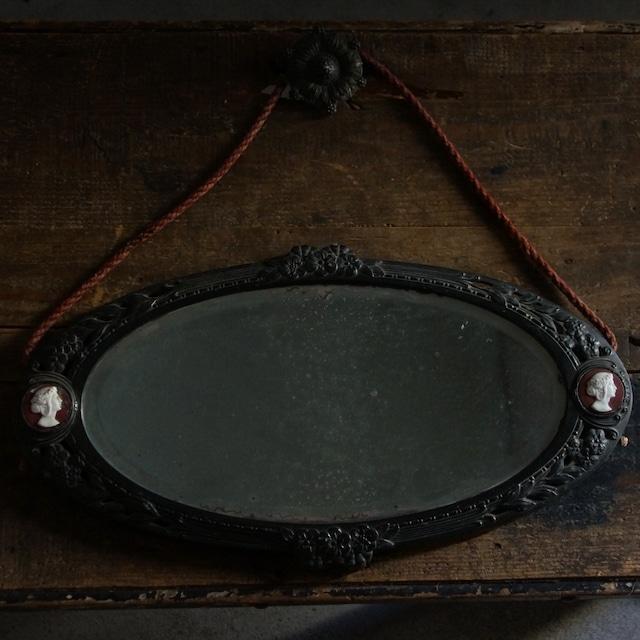 古いフランスの壁掛け鏡