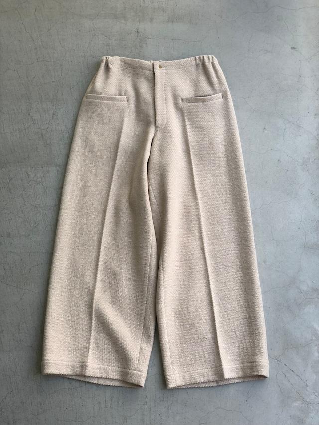 ippei takei 【イッペイタケイ】wide パンツ pink beige