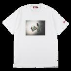 "K'rooklyn × Akimoto Fukuda Collaboration T-Shirts ""DOLLAR"" -White-"