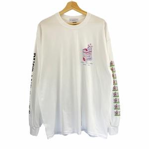 "Yutaka Nojima × DUST AND ROCKS Long Sleeve T-shirts ""LIFE GOES ON"""