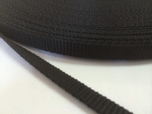 PPテープ 10mm幅 1.2mm厚 黒 50m
