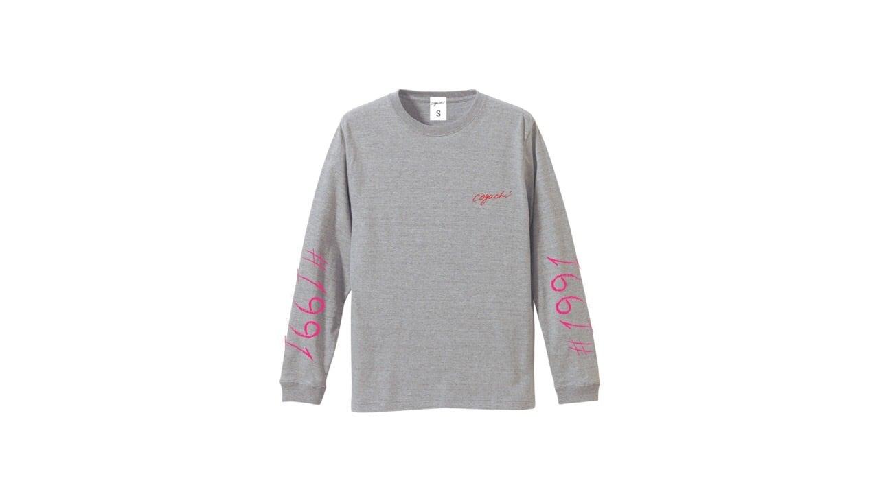 1991 biglogo longTshirt (GRY)
